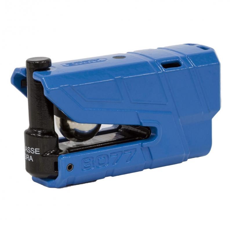 Bloque disque Abus Granit Detecto 8077 bleu avec alarme