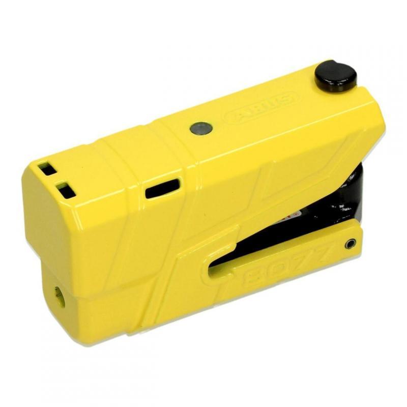 Bloque disque Abus Granit Detecto 8077 jaune avec alarme