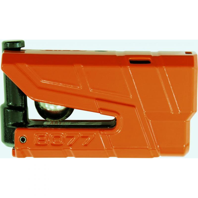 Bloque disque Abus Granit Detecto 8077 orange avec alarme