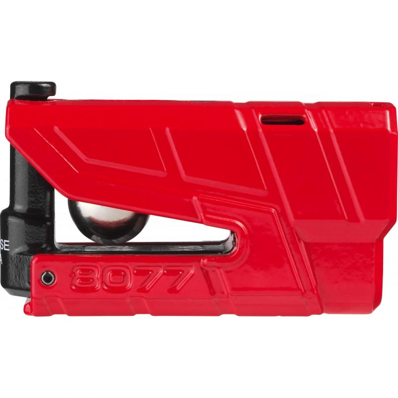Bloque disque Abus Granit Detecto 8077 rouge avec alarme