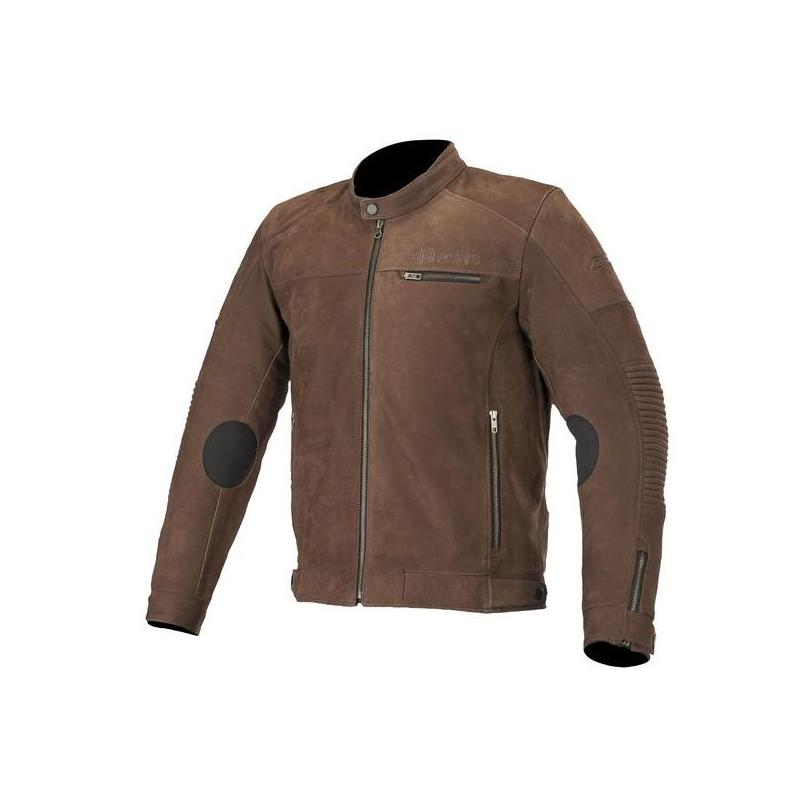 Blouson cuir Alpinestars Warhorse tabacco brown