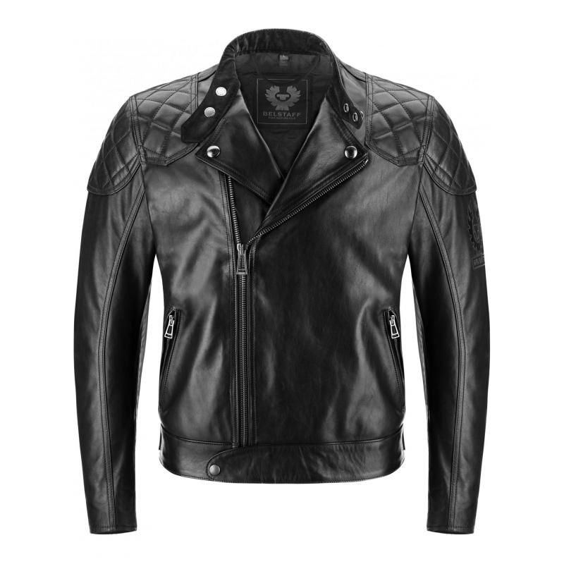 Blouson cuir Perfecto Belstaff IVY 2.0 noir