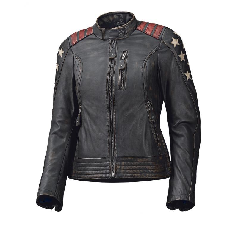 Blouson cuir femme Held LAXY noir