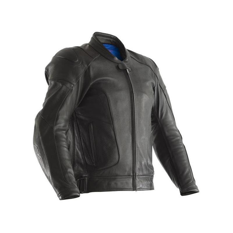 Blouson cuir RST GT Airbag noir