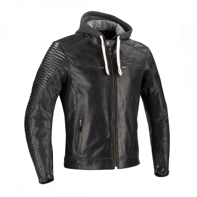 Blouson cuir Segura Dorian noir