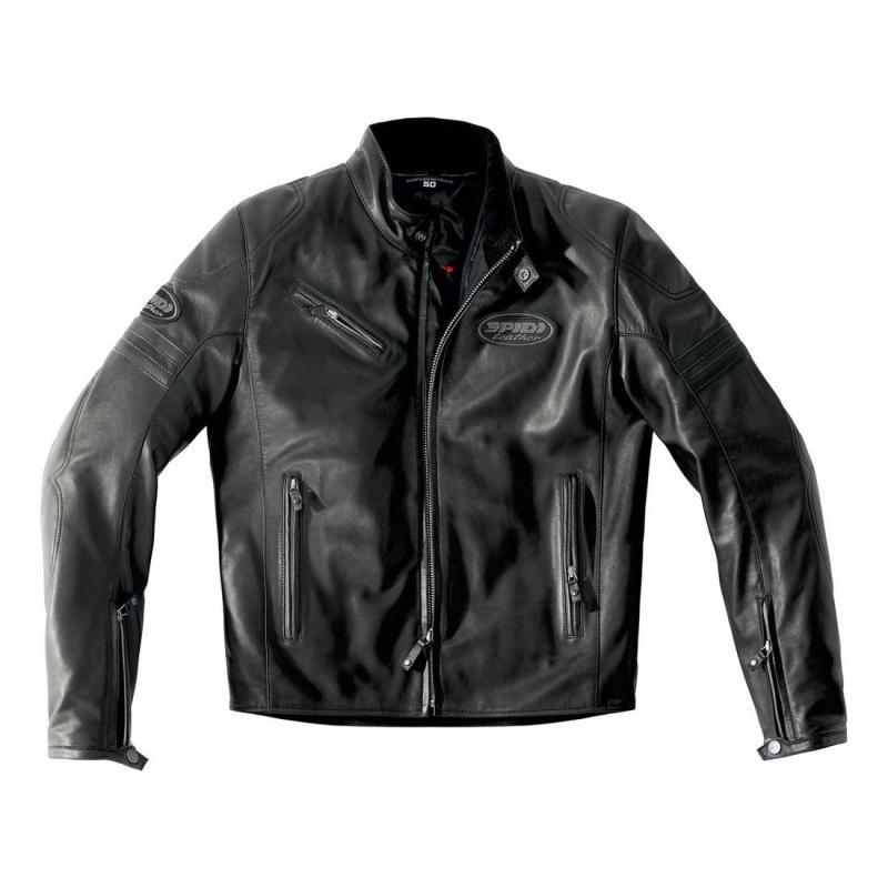 Blouson cuir Spidi ACE LEATHER noir