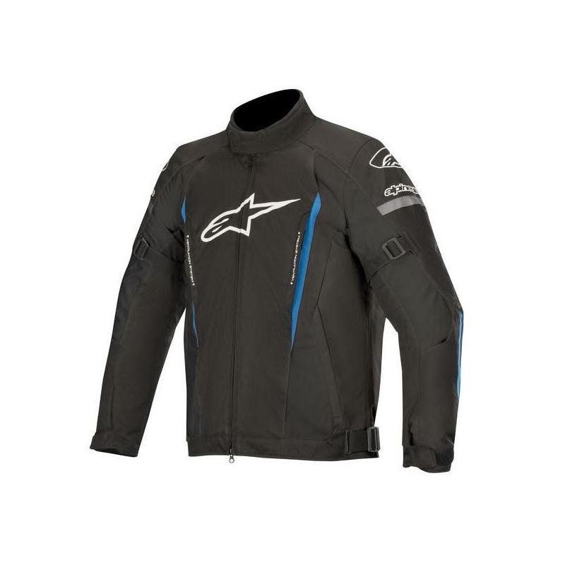 Blouson textile Alpinestars Gunner V2 Waterproof noir/bleu