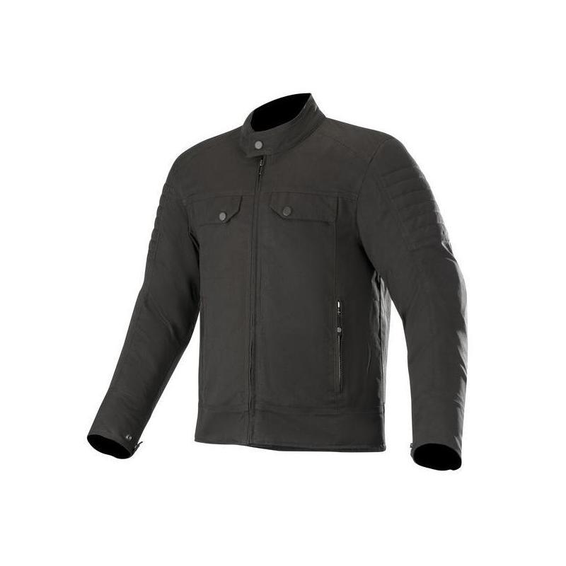 Blouson textile Alpinestars Ray Canvas V2 noir