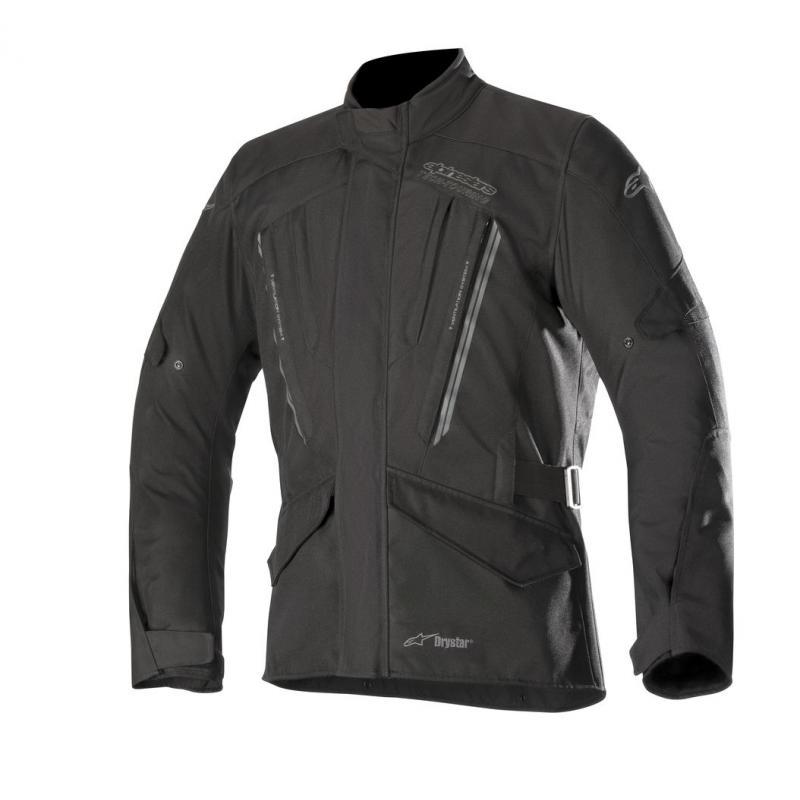 Blouson textile Alpinestars VOLCANO DRYSTAR noir