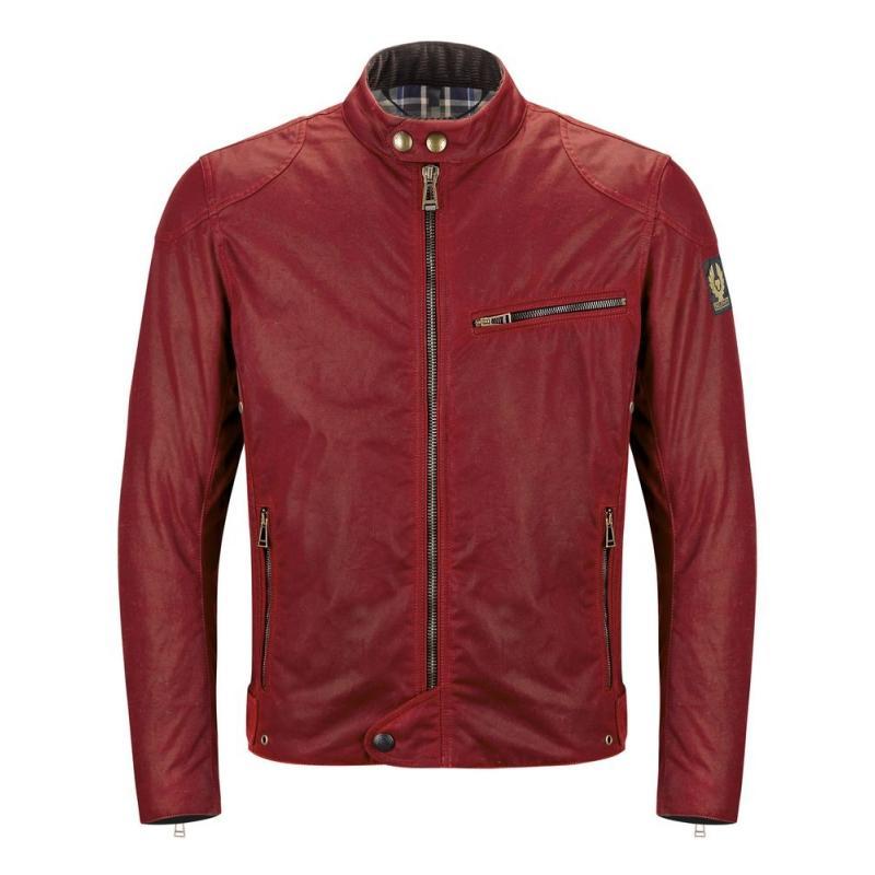 Blouson textile Belstaff ARIEL rouge
