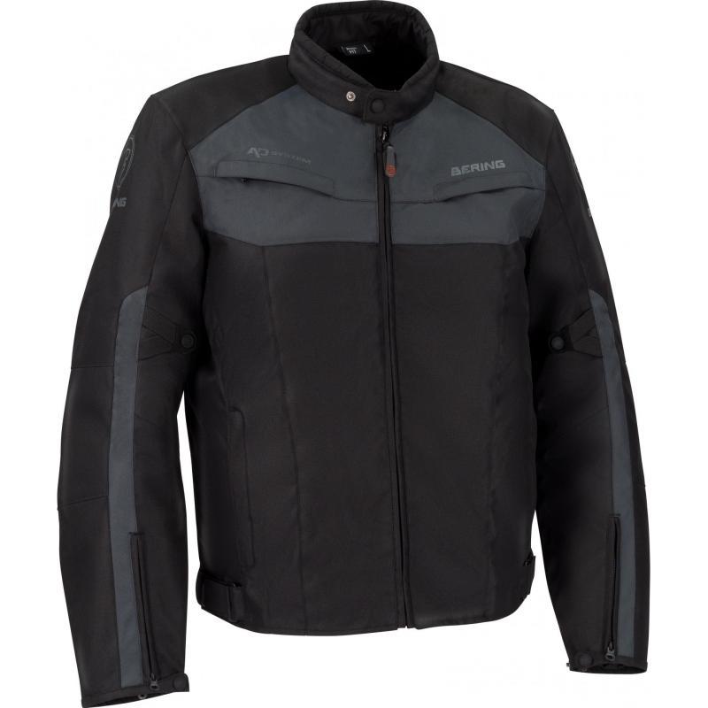 Blouson textile Bering Arnold noir/anthracite