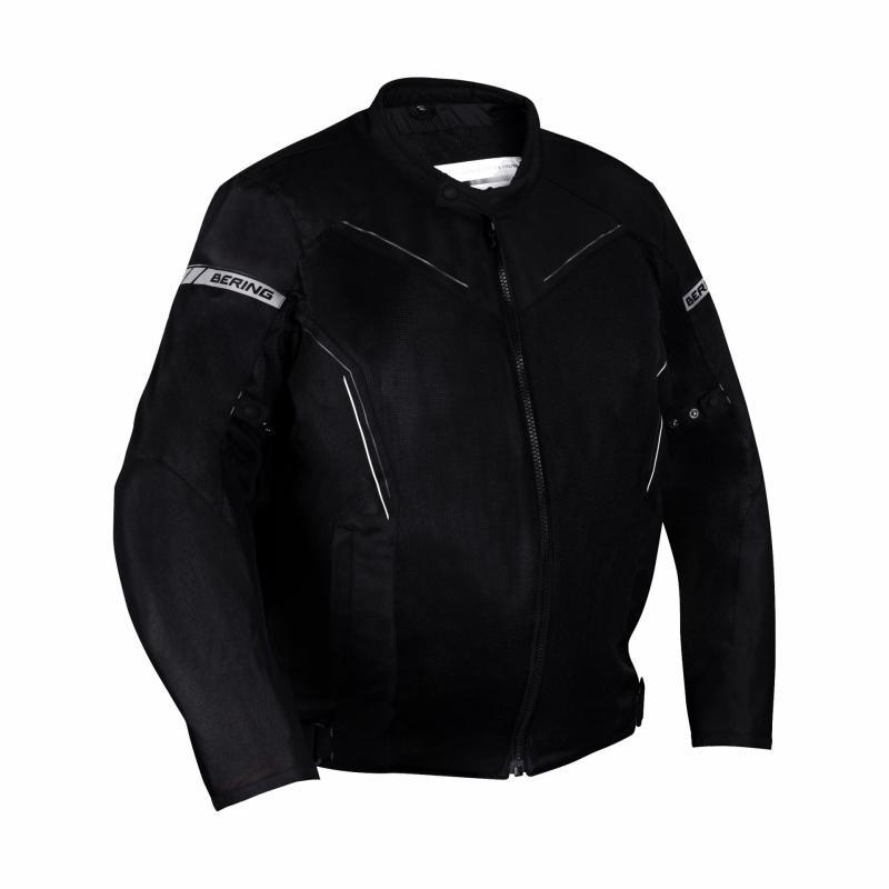 Blouson textile Bering Cancun King Size noir/gris