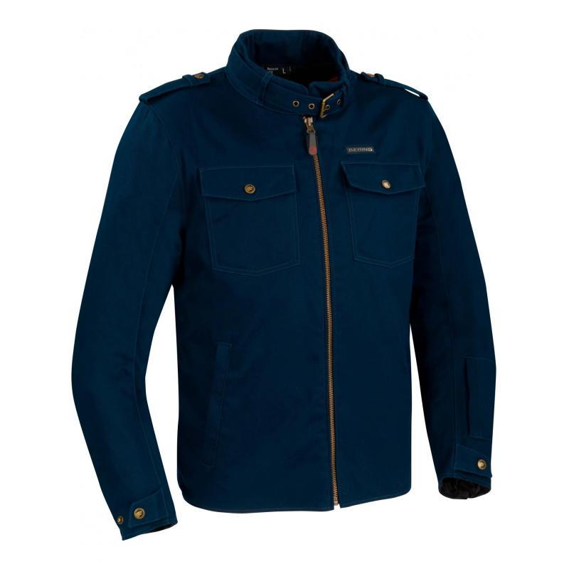 Blouson textile Bering Chuck bleu