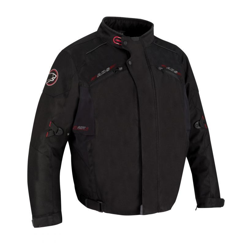 Blouson textile Bering Corleo King Size noir