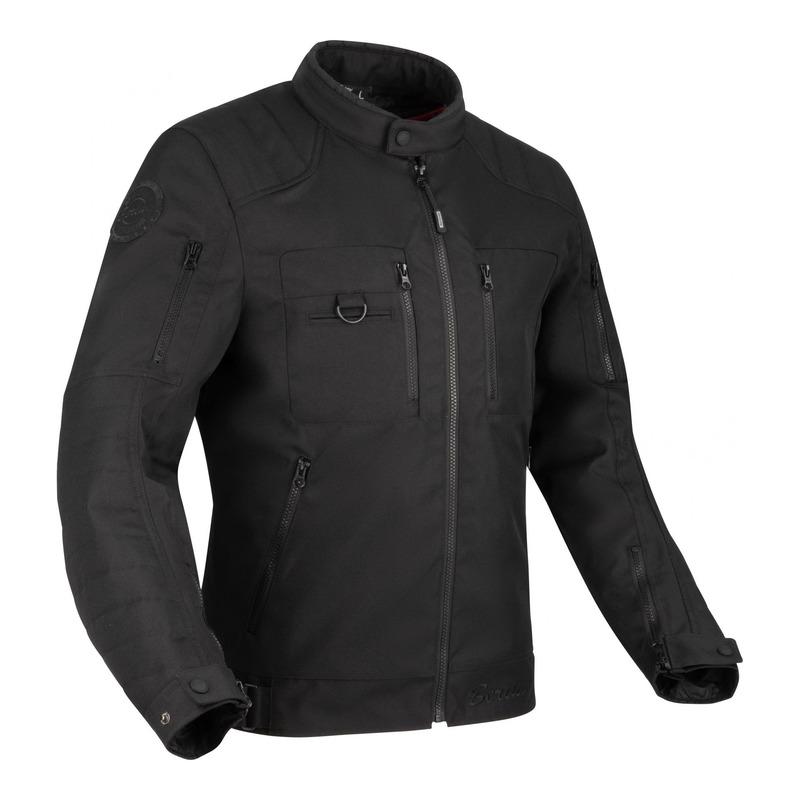 Blouson textile Bering Corpus noir