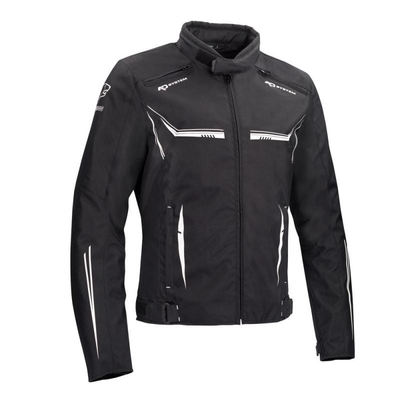 Blouson textile Bering Ross noir/blanc