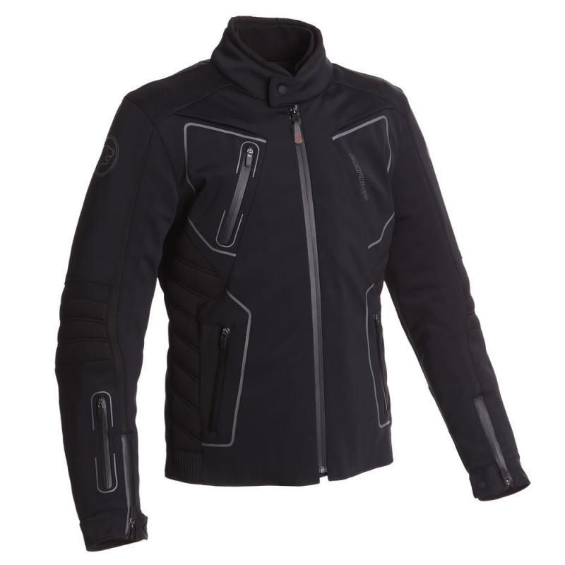 Blouson textile Bering SKAN Noir/Gris