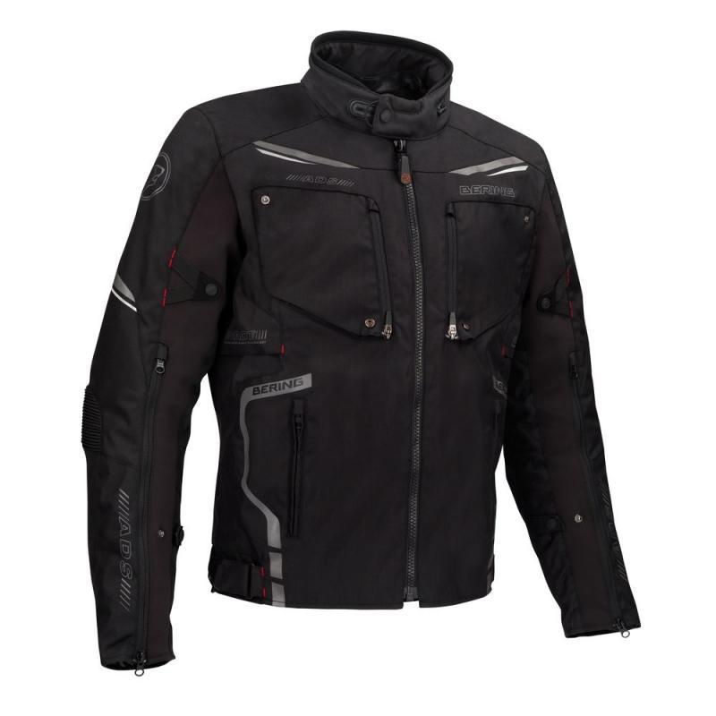 Blouson textile Bering Zodd noir