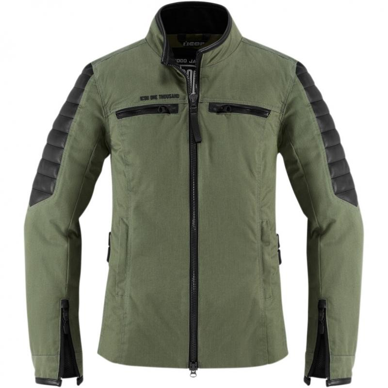 Blouson textile femme Icon 1000 MH 1000 vert