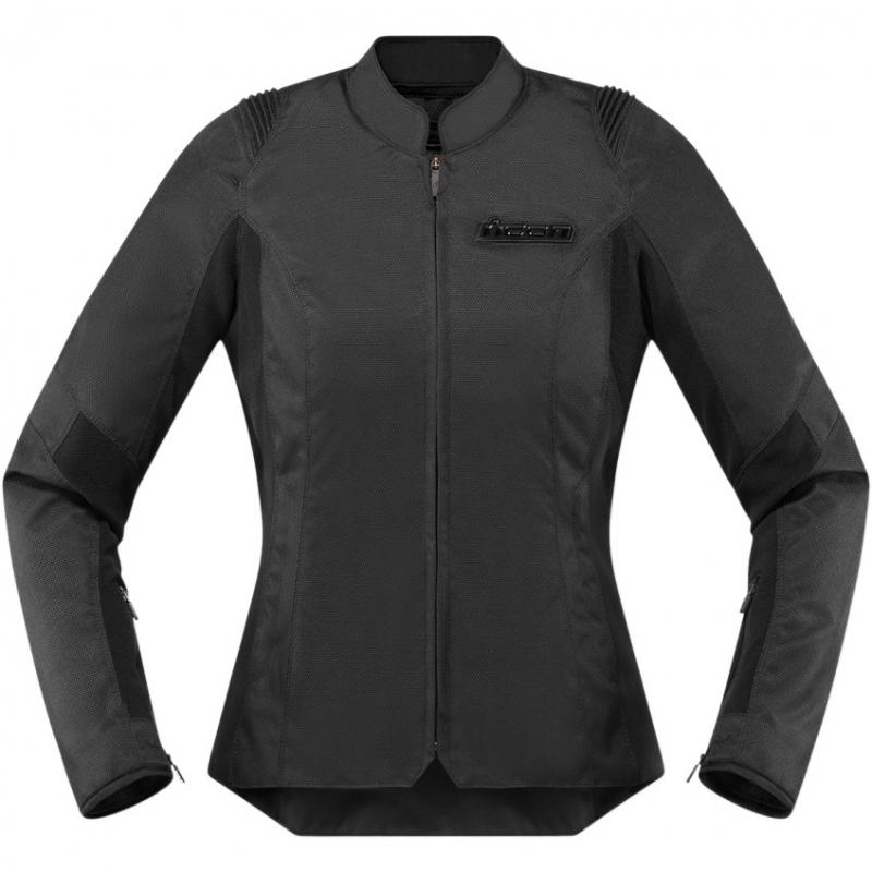 Blouson textile femme Icon Overlord CE Stealth