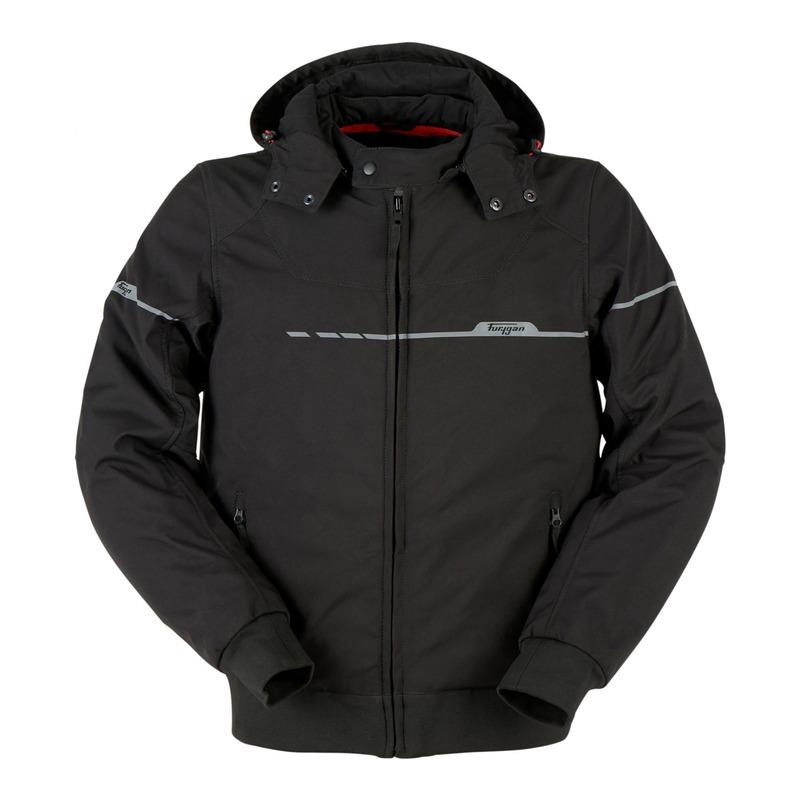 Blouson textile Furygan Sektor Evo noir/noir