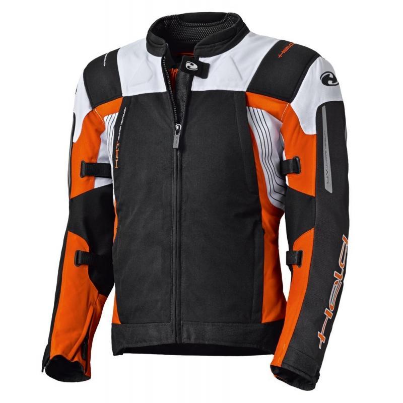Blouson textile Held ANTARIS noir/orange