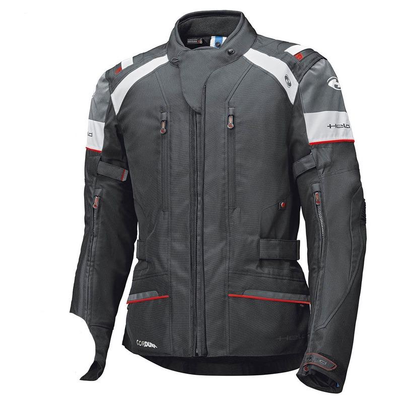 Blouson textile Held Tivola ST GTX noir/blanc/rouge (standard)