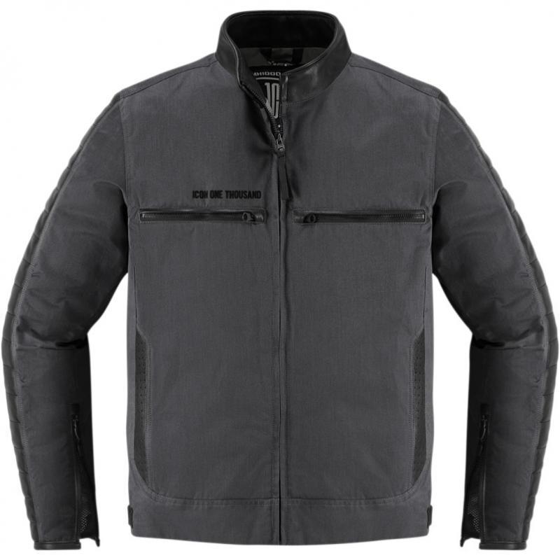 Blouson textile Icon 1000 MH 1000 noir