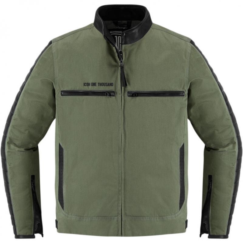 Blouson textile Icon 1000 MH 1000 vert