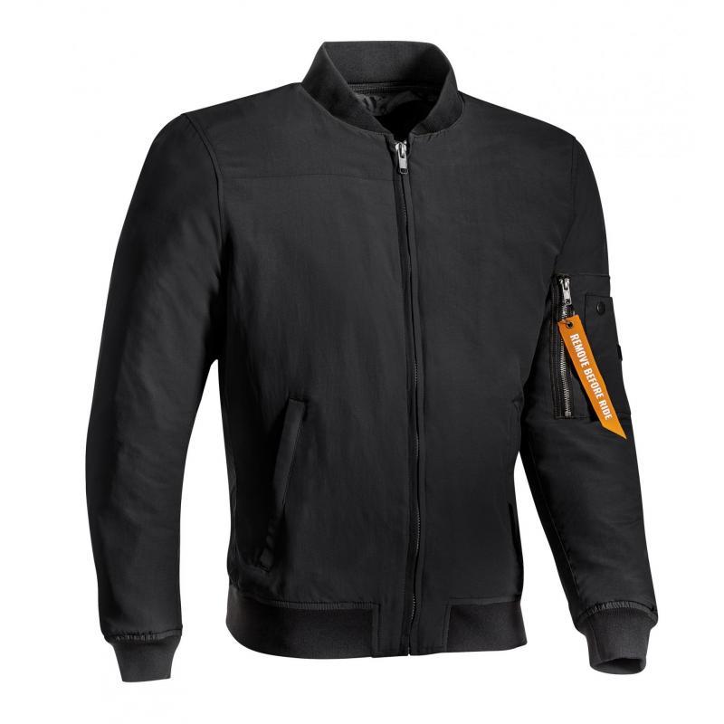 Blouson textile Ixon Tomcat noir