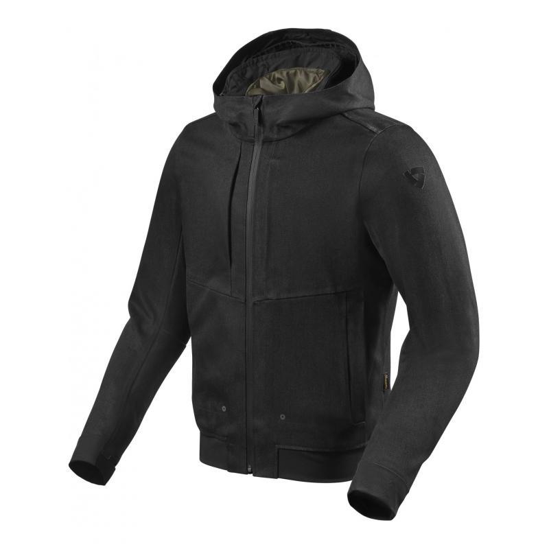 Blouson textile Rev'it Stealth 2 noir