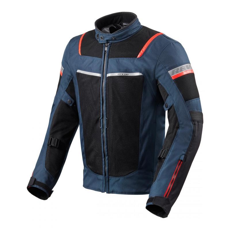 Blouson textile Rev'it Tornado 3 dark bleu/noir