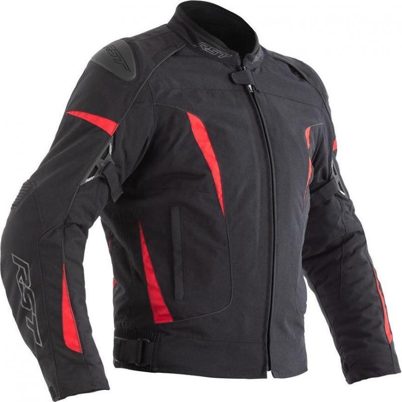 Blouson textile RST GT CE rouge