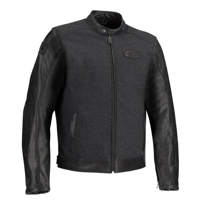 Blouson textile Segura LOOKS noir/anthracite