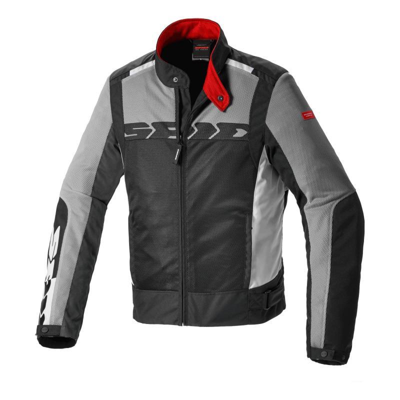 Blouson textile Spidi Solar Net Sport gris/noir