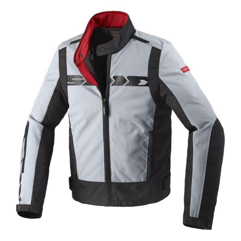 Blouson textile Spidi Solar Tex gris/noir