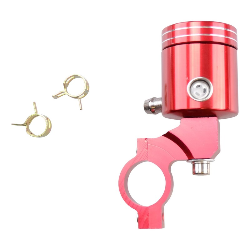 Bocal maître cylindre de frein alu Tun'r rouge