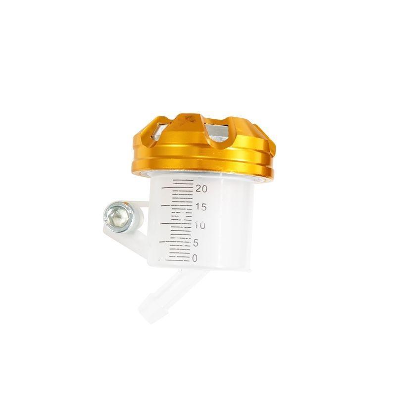 Bocal maître cylindre de frein Tun'R universel bouchon alu or