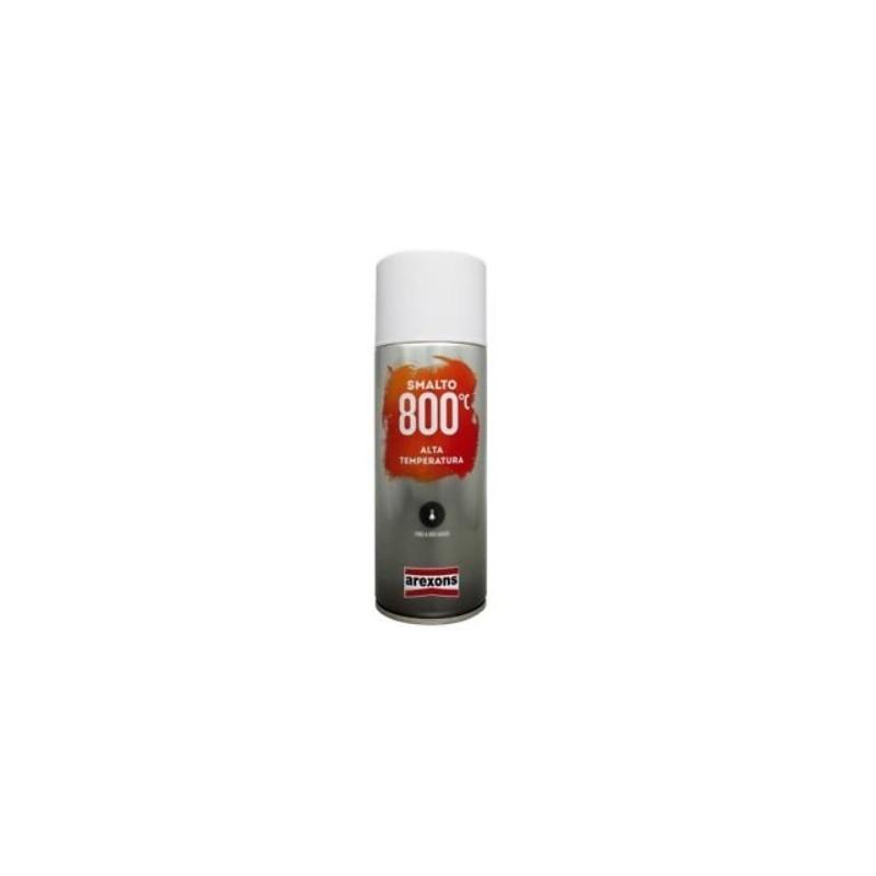 Bombe de peinture Arexons noir haute température 800°c - 400 ml