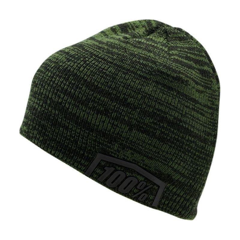 Bonnet 100% Essential vert/noir