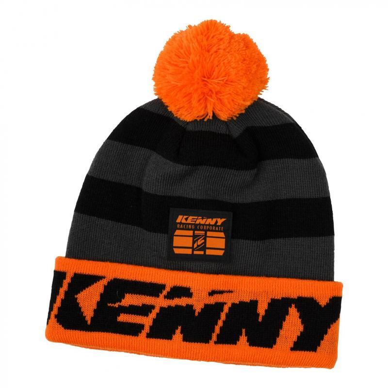 Bonnet Kenny Racing noir/orange