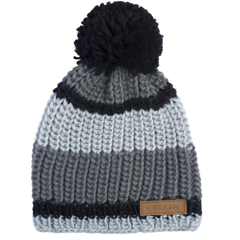 Bonnet Pull-in Ice Grey noir/gris
