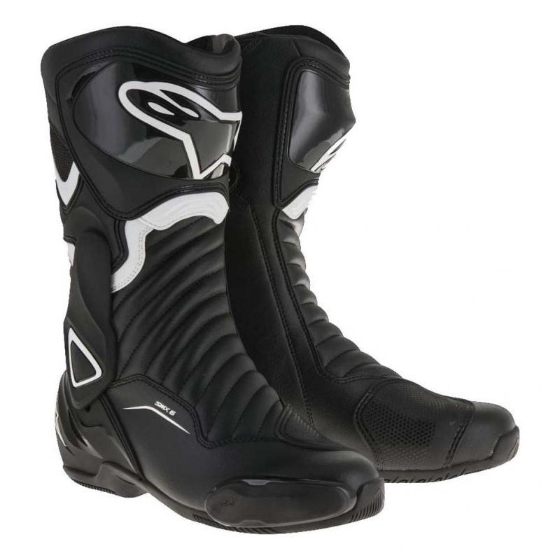 Bottes Alpinestars SMX-6 V2 noir/blanc