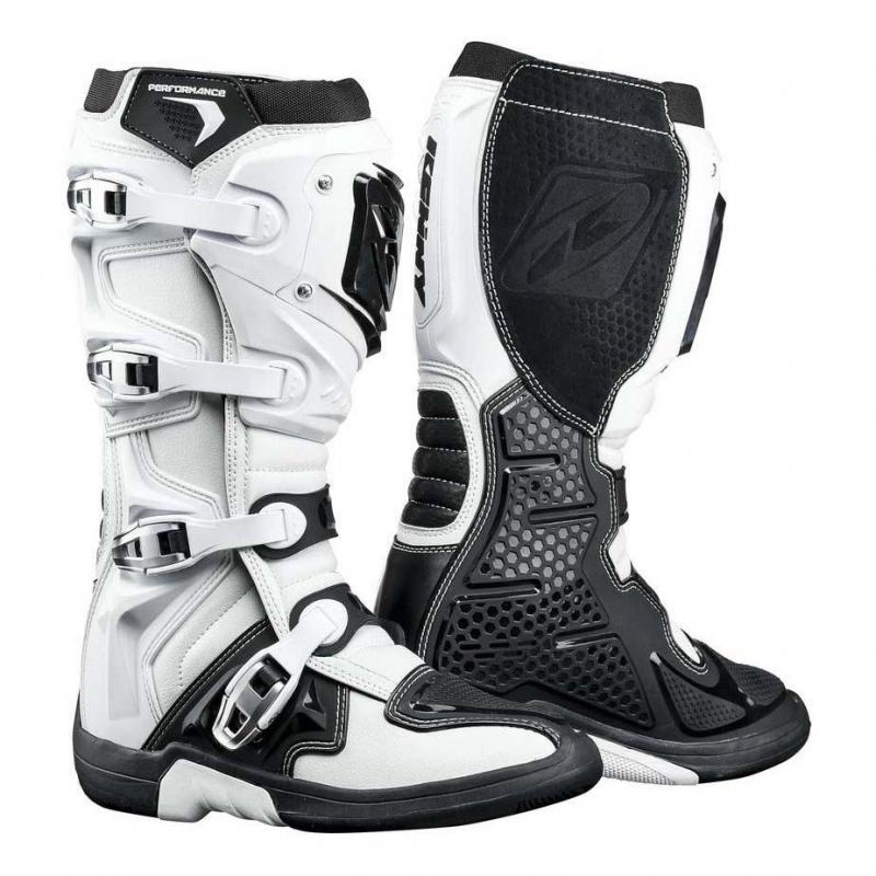 Bottes cross Kenny Performance blanc