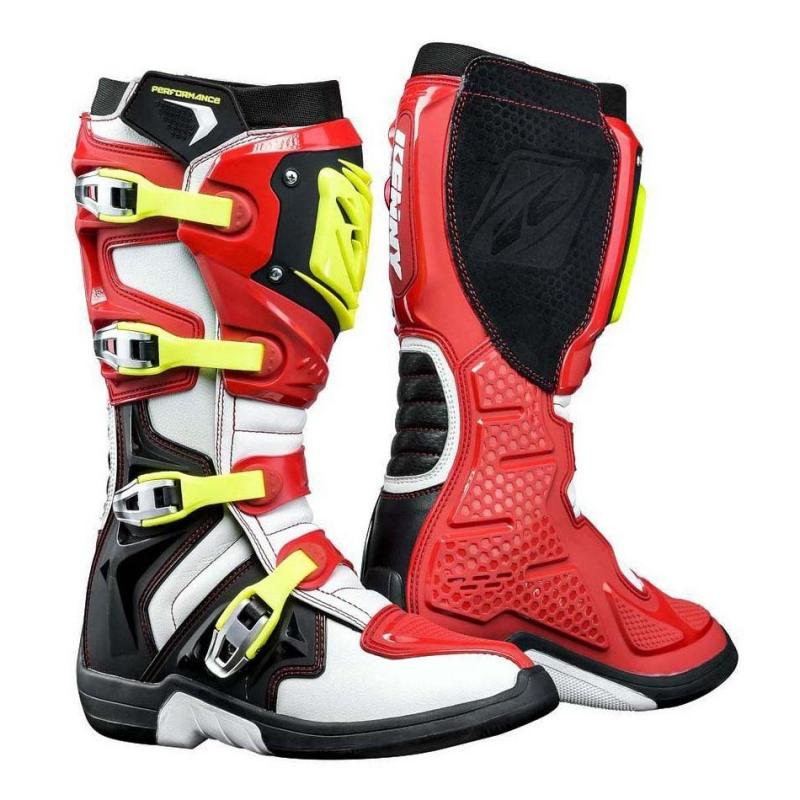 Bottes cross Kenny Performance rouge