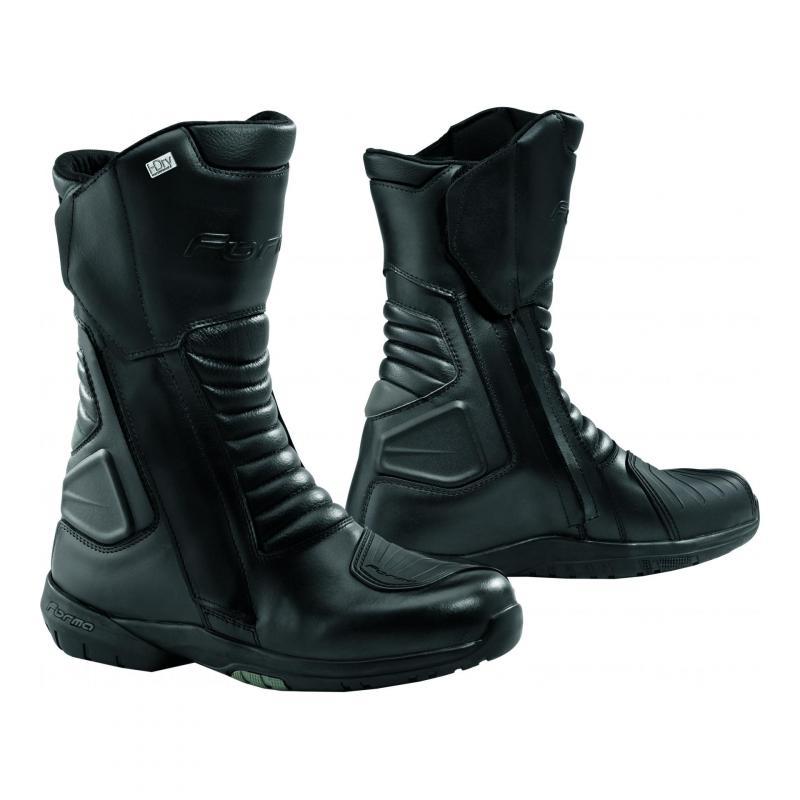 WP Cortina cuir Forma Hdry® noir Bottes uPikZOX
