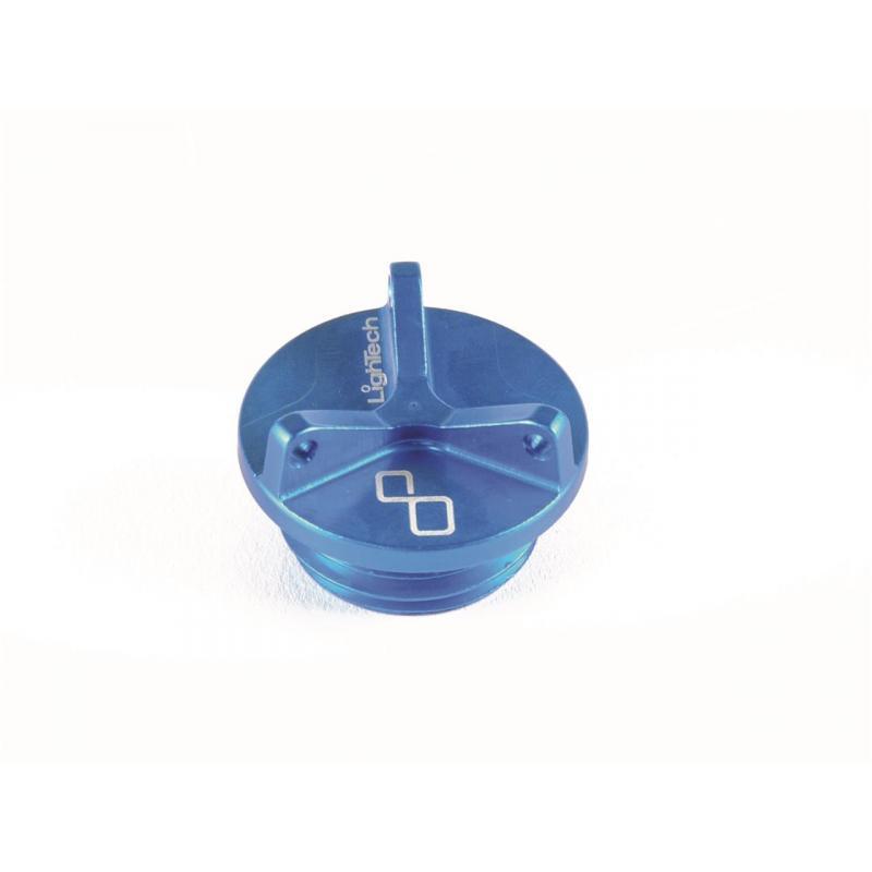 Bouchon de remplissage d'huile moteur Lightech bleu Ø M26x3 mm 2 pans