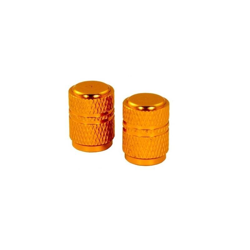 Bouchons de valve forme ronde ors
