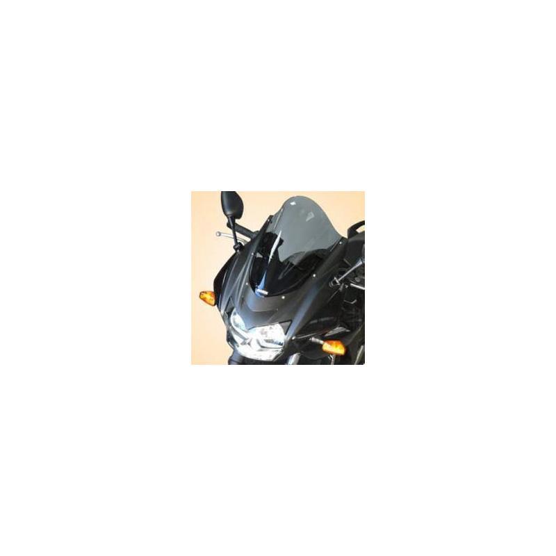 Bulle Bullster haute protection 41 cm fumé noir Kawasaki Z750 S 05-06