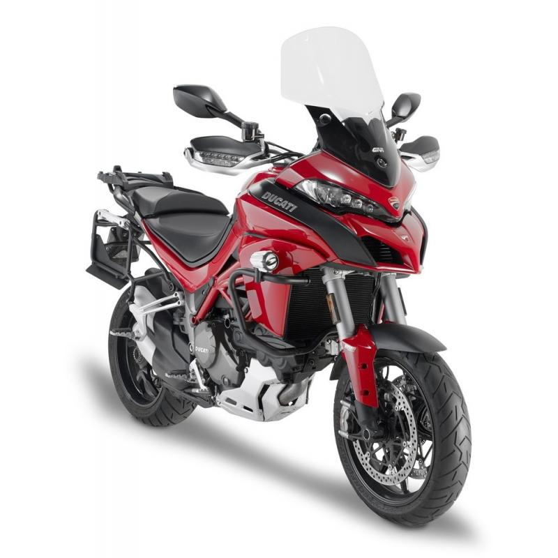 Bulle Givi incolore Ducati Multistrada 1200 15-18